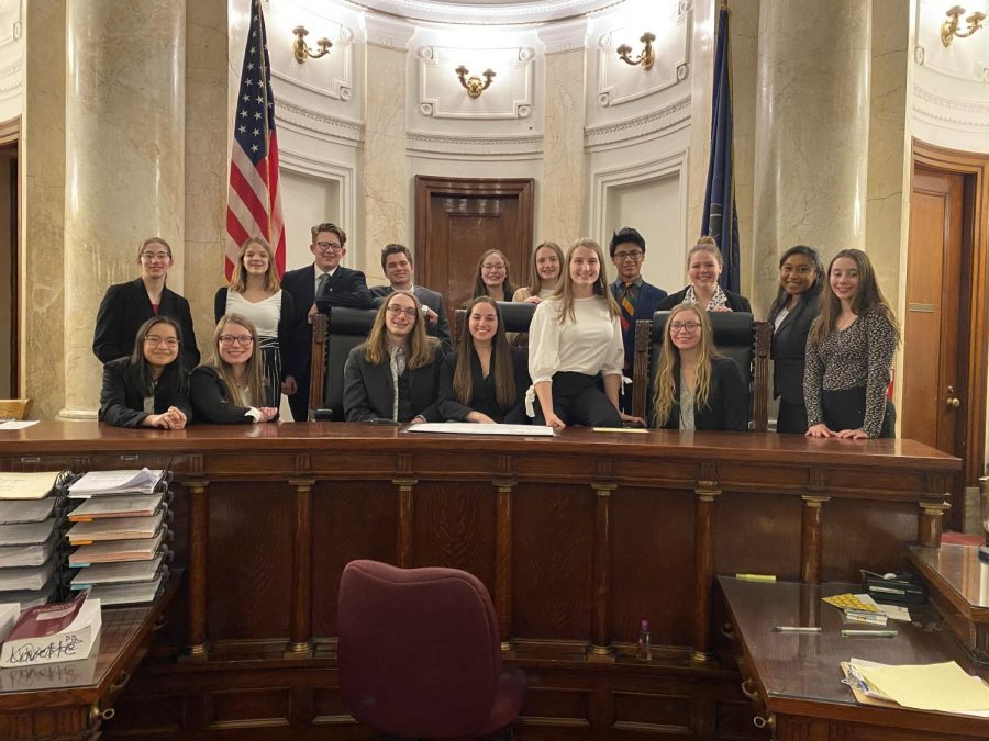 The+Tyrone+A+Team+with+Central+Cambria%27s+Mock+Trial+Team