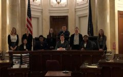 Mock Trial A Team Falls in Close Trial to Central Cambria