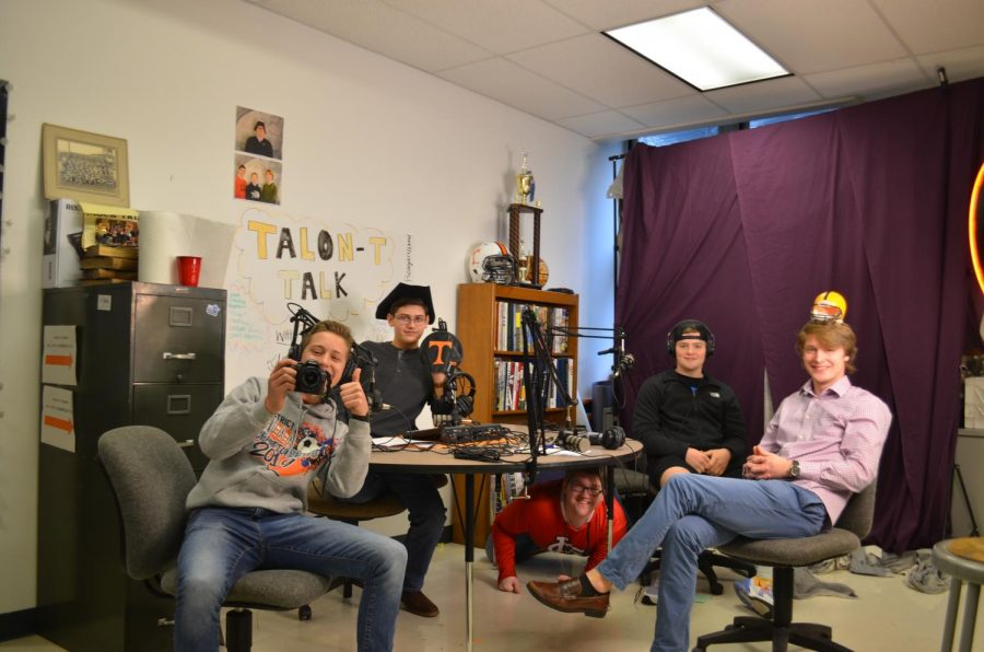 Talon-T Talk would like to thank Junior Nick Lewis for being on the show!