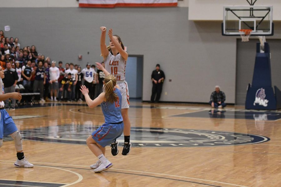 Lady Eagles End 22 Year Skid, Advance in State Playoffs