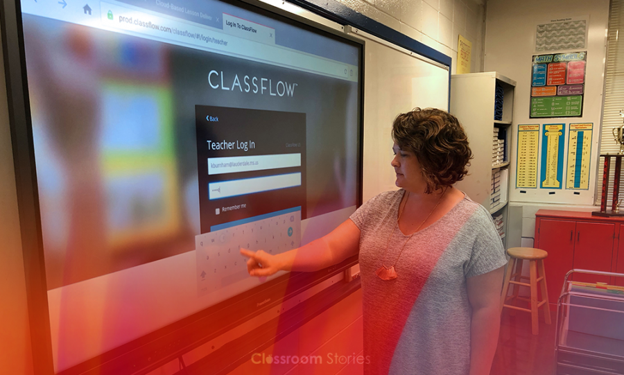 The ActivPanel Titanium provides an integrated learning display that is touch controlled and can be shared with student devices in the classroom.