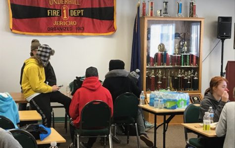 Tyrone Ski Club Thanks Vermont Fire Company for Their Generosity