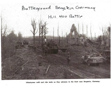 The remains of Bergstein, Germany after the battle for the town. (Photo Courtesy of Joe Keirn)