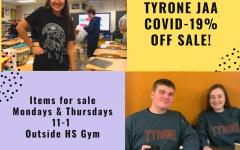TAHS Junior Achievement Student Businesses COVID-19% Off Sale