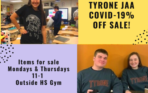 TAHS Junior Achievement Student Businesses COVID-19% Off Sale