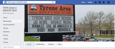 "TAHS alumni and members of the Tyrone community can ""adopt"" a senior from the Class of 2020 by joining this local Facebook page."