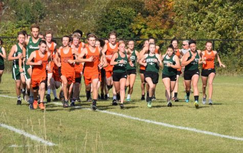 The start at last season's home meet vs. Juniata Valley (file photo)