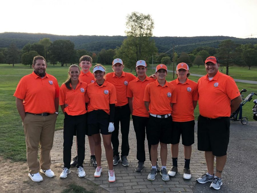 Golf Team Wins Mountain League; Taylor Earns League MVP