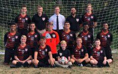 The Tyrone 2020 Boys Varsity Soccer team.
