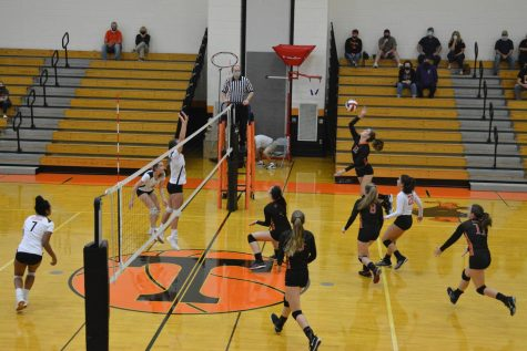 Lady Eagles BEAt By Bald Eagles