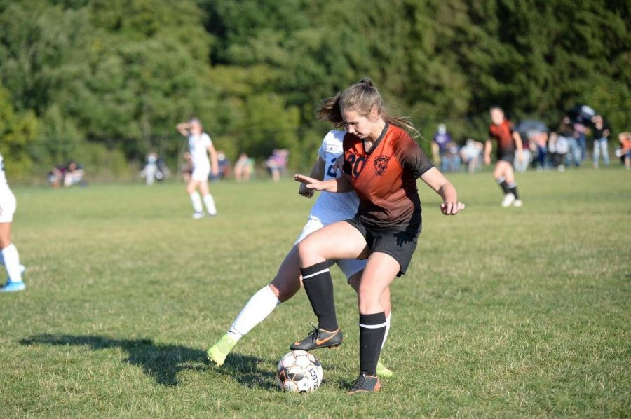 Sophomore Eliza Vance scored the winning goal during overtime with an assist from freshman Lainey Quick. (File photo)