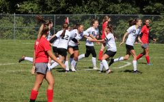Lady Eagles Lose to Clearfield, Tie Central
