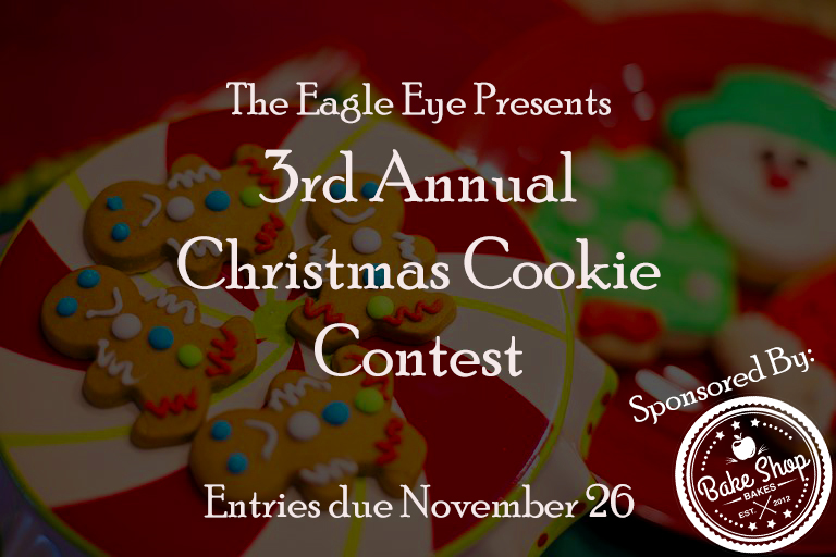 Enter the Third Annual Eagle Eye-Bake Shop Bakes Christmas Cookie Contest