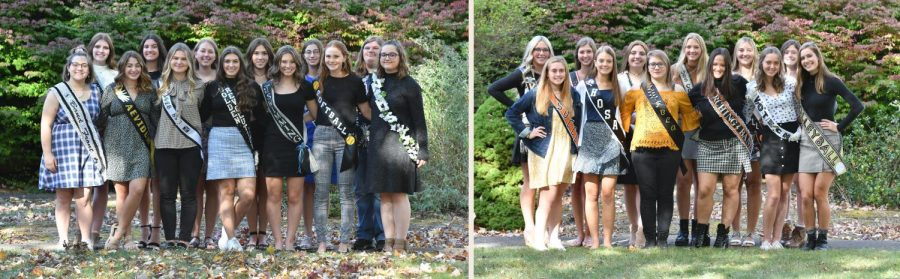 Meet the 2020 Tyrone Area High School Homecoming Court