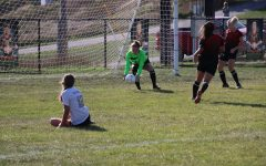 Sophomore Rayann Walls made many saves throughout last Thursday's game against Hollidaysburg. (File Photo)