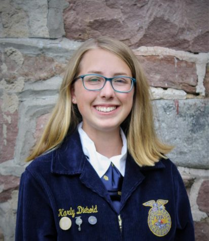 Diebold Places Fourth Nationally in FFA AgriScience Competition