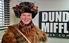 Dwight Schrute as Belsnickel in The Office