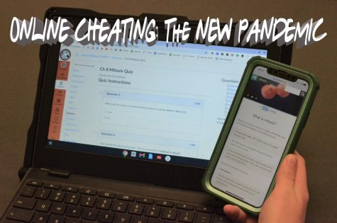 Teachers and students have both reported an increase in cheating on online assignments and tests during the pandemic. The ease of looking answers up at home is just too tempting for many students.