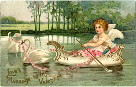 The image of Cupid as an angelic baby that is popular today is not the way that Cupid was seen in ancient times.