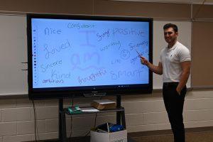 Tyrone alumni Zack Soellner is a new special education teacher in the middle school.