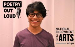 Tyrone Junior Mario Grugan has qualified for the state finals of the NEA's Poetry Out Loud Contest.
