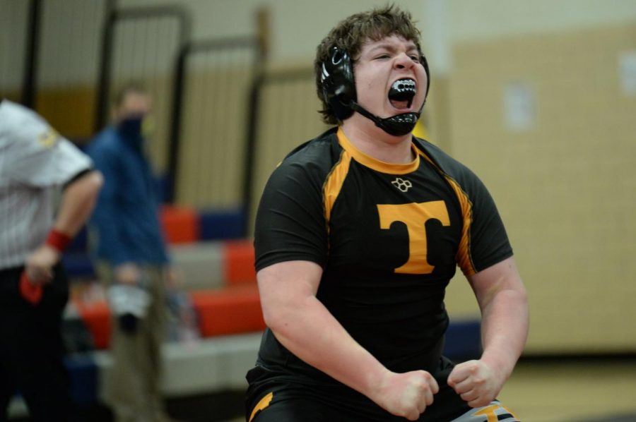 Tyrone Wrestlers Win Sectionals On Ewing's Fall