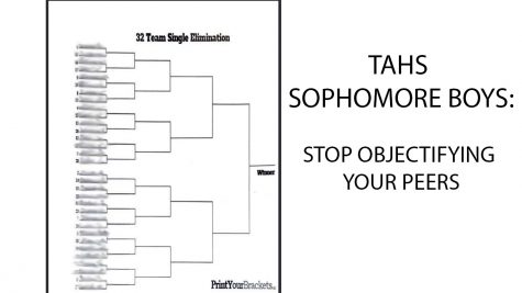 "This ""bracket"" was posted on Instagram with the names of sophomore girls to rank their appearance (names have been blurred to protect their privacy)."