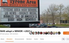 "Tyrone alumni and members of the community have once again come together to support Tyrone Area High School's senior class by continuing the ""adopt"" a senior page on Facebook."