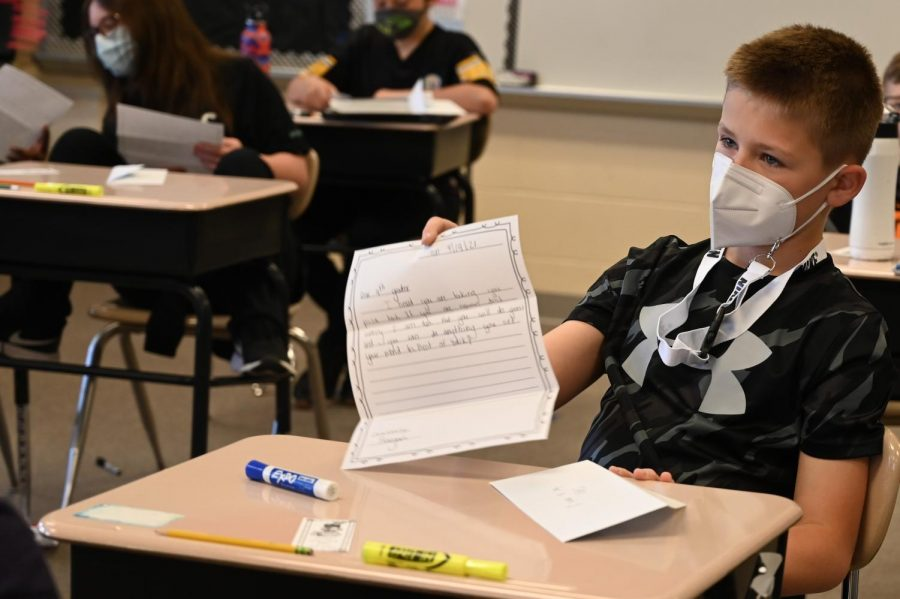 PSSA Pen Pals: Tyrone and Bellwood Students Exchange Letters of Encouragement