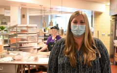 Cafeteria Director Amanda Owens and her staff have had to deal with many COVID related challenges this year.