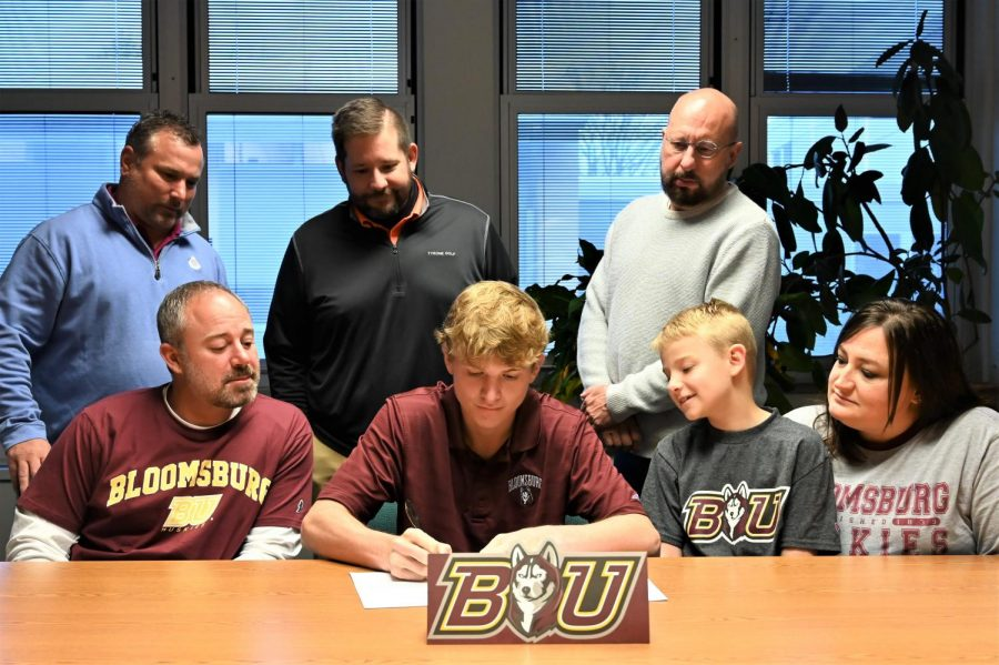 Taylor Commits to the Bloomsburg University Golf Team