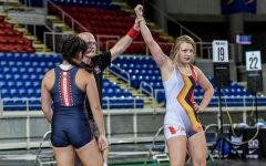 Tyrone senior Tiffani Baublitz is one of the top high school female wrestlers in the country.