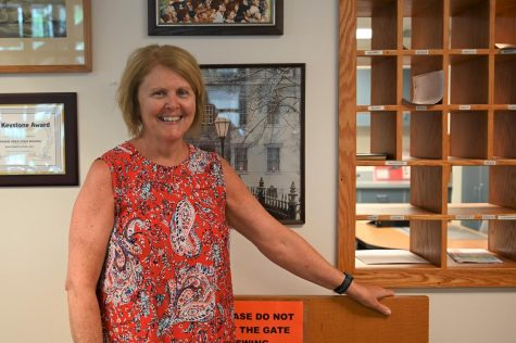 TAHS administrative assistant Cherie Golden will retire in June with 34 years of service to the district, all at the high school.