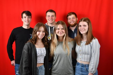 Six Students Posing for picture