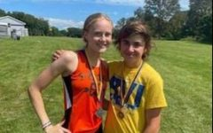 Medalists for Tyrone were junior Beth Pearson and eighth grader Caleb Miller