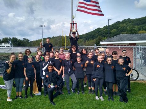 The band took first place in their division last weekend in Brockway.