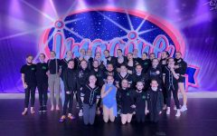 Dance Fusion Competition team members at their last competition during the 2020-2021 season.