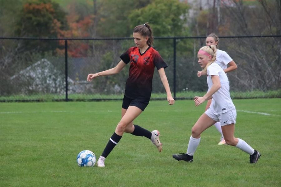 Lady Eagles Fall to Undefeated Lady Bison