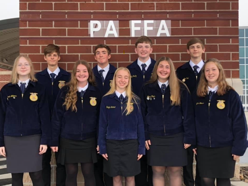 Tyrone FFA Members Attend Fall Leadership Conference
