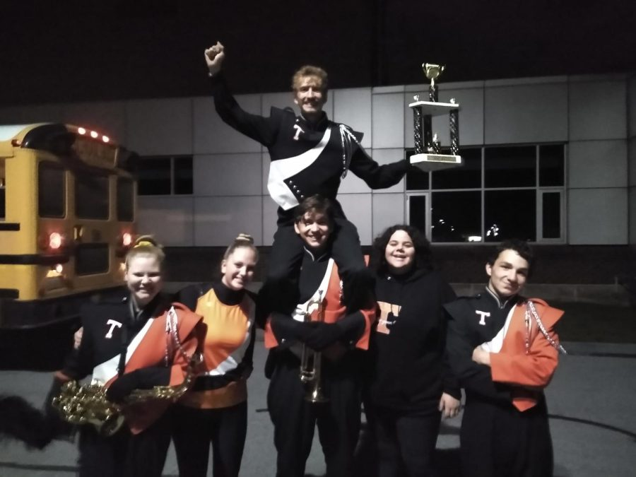 Tyrone Band Marches Forward With a New High Score