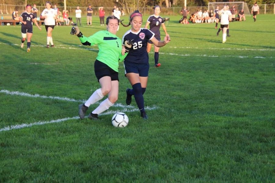 Lady Eagles Lose to Bearcats