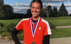 Miksich Wins 3rd Consecutive District Golf Title