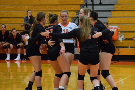 Tyrone defeats Clearfield in Three Sets